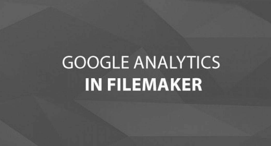 Google Analytics in FileMaker