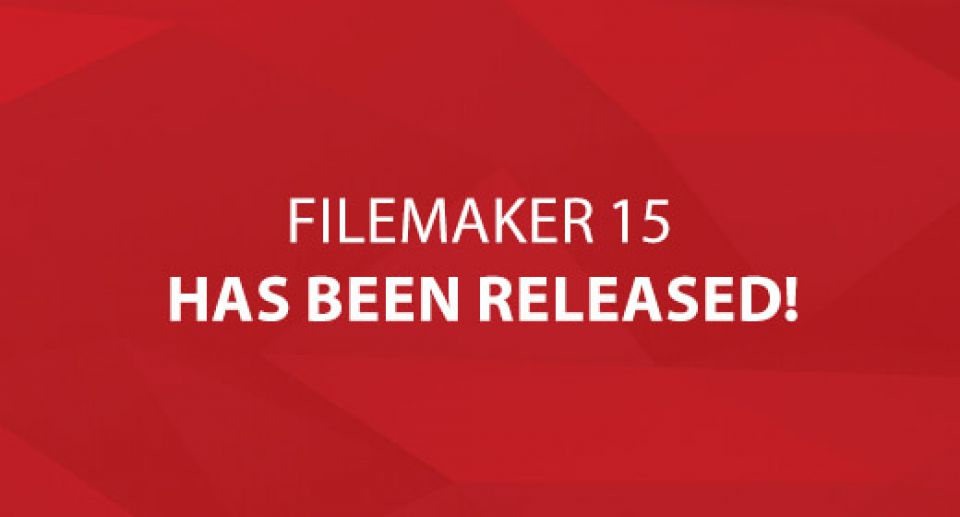 FileMaker 15 Has Been Released