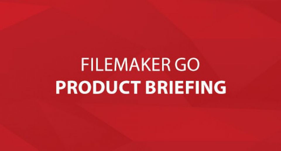 FileMaker Go Product Briefing