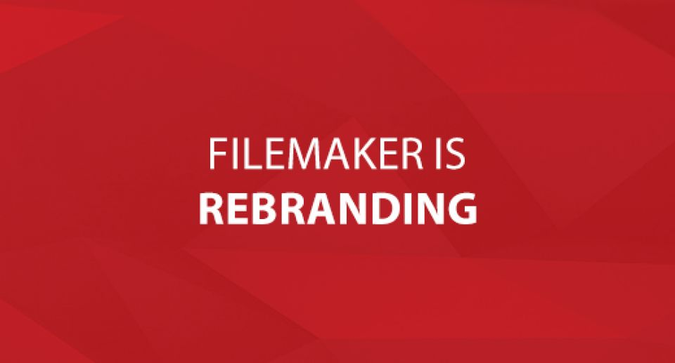 FileMaker is Rebranding