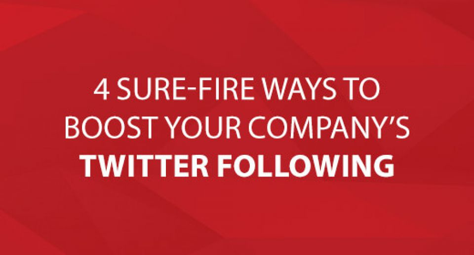 4 Sure-Fire Ways to Boost Your Company's Twitter Following Keep up to date with CoreSolutions