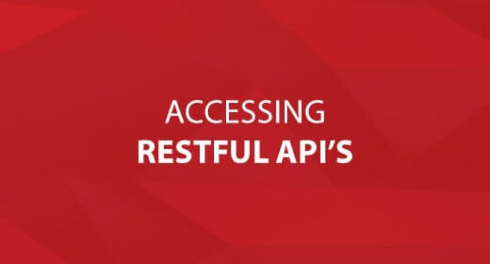 Accessing RESTful API's