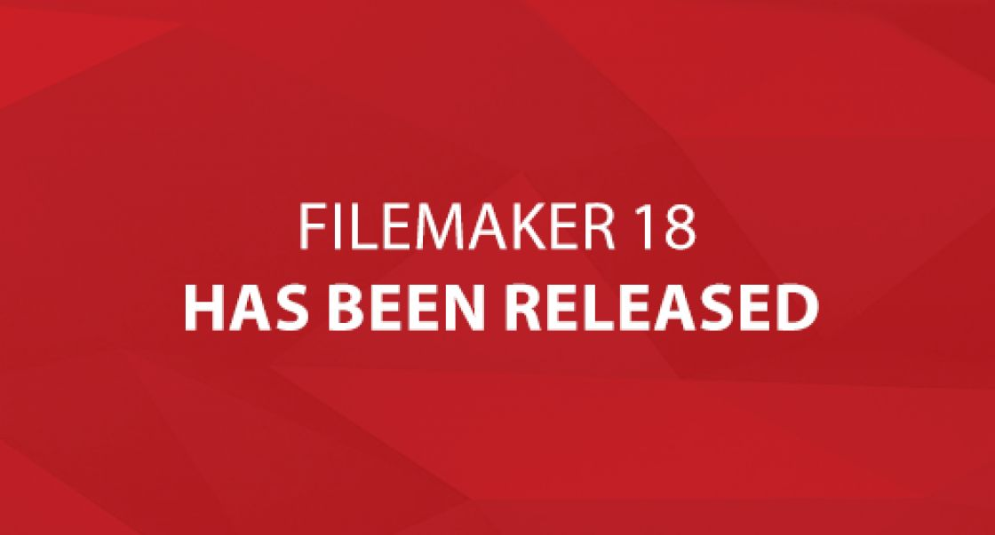 FileMaker 18 Has Been Released