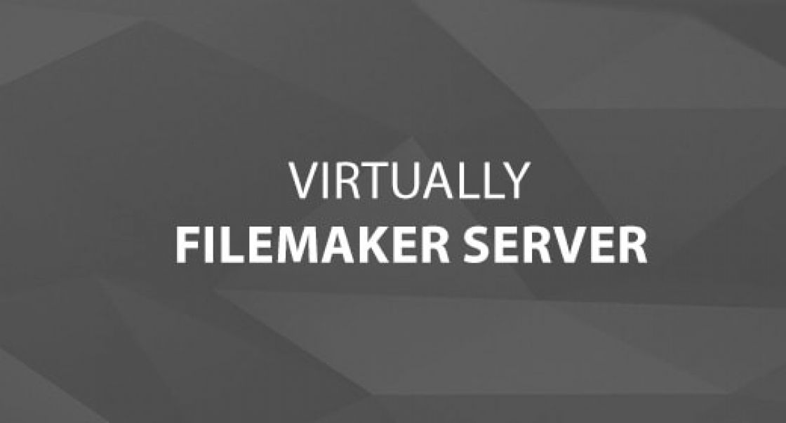 Virtually FileMaker Server