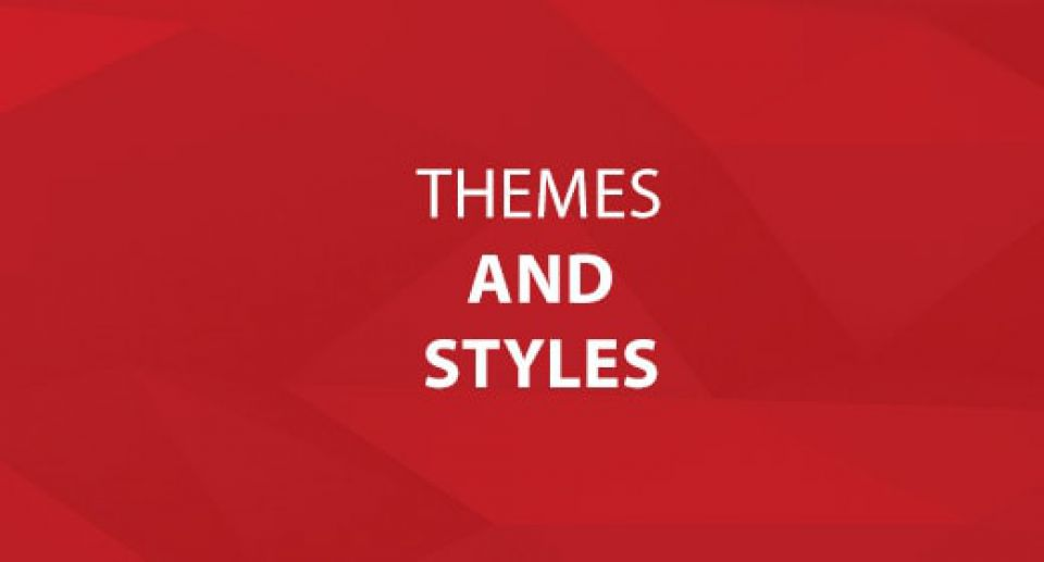 Themes and Styles in FileMaker 13