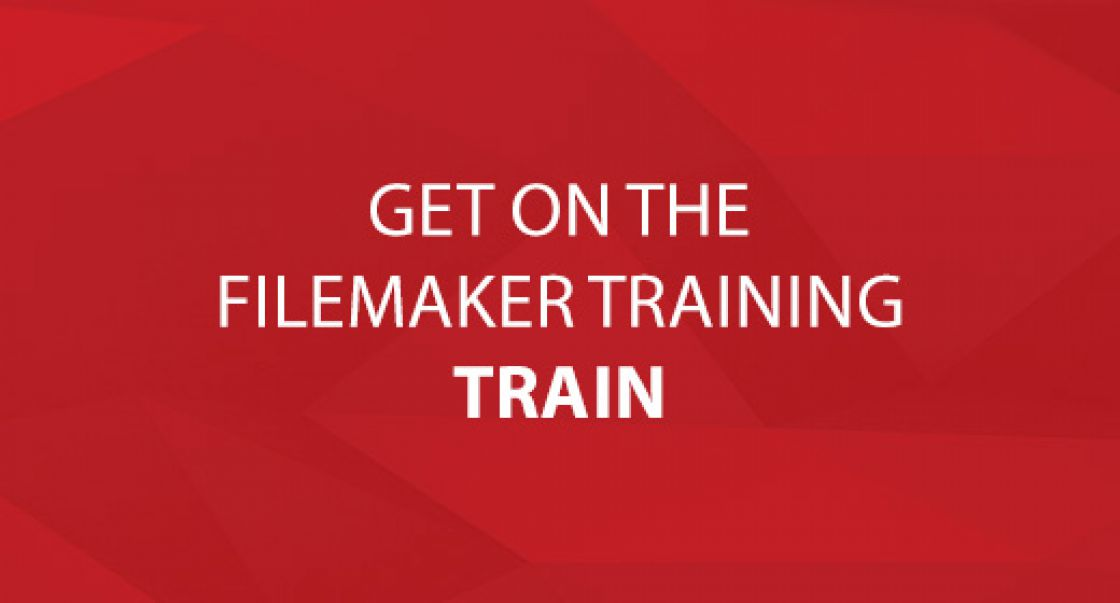 Get On The FileMaker Training Train