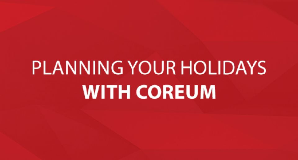 Planning Your Holidays with CoreUM