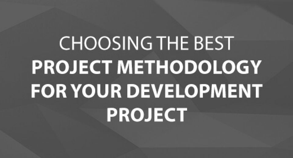 Choosing the Best Project Methodology for Your Development Project