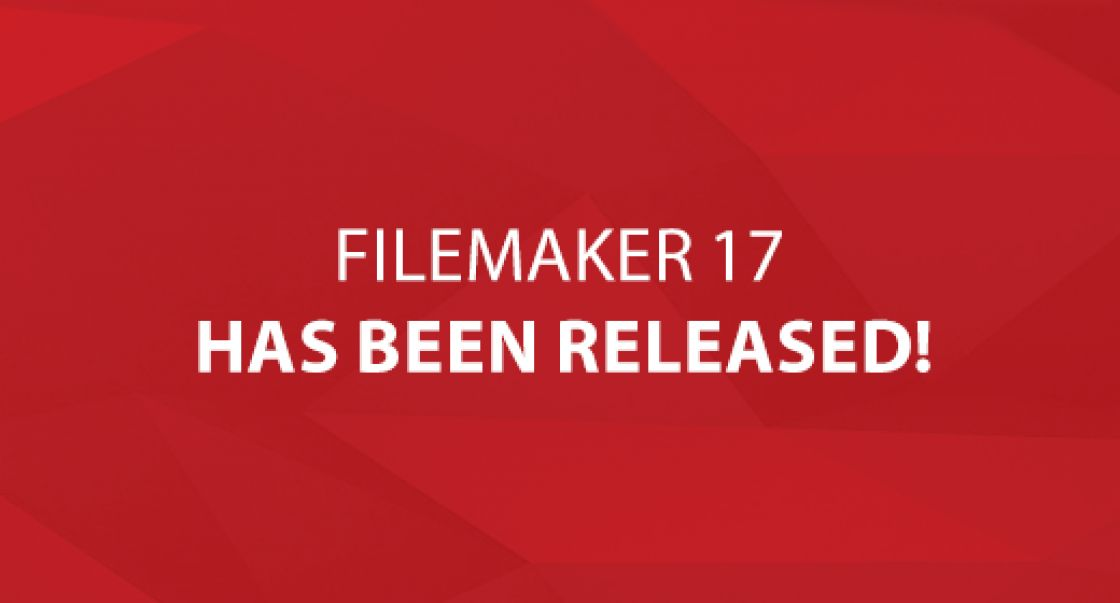 FileMaker 17 Has Been Released