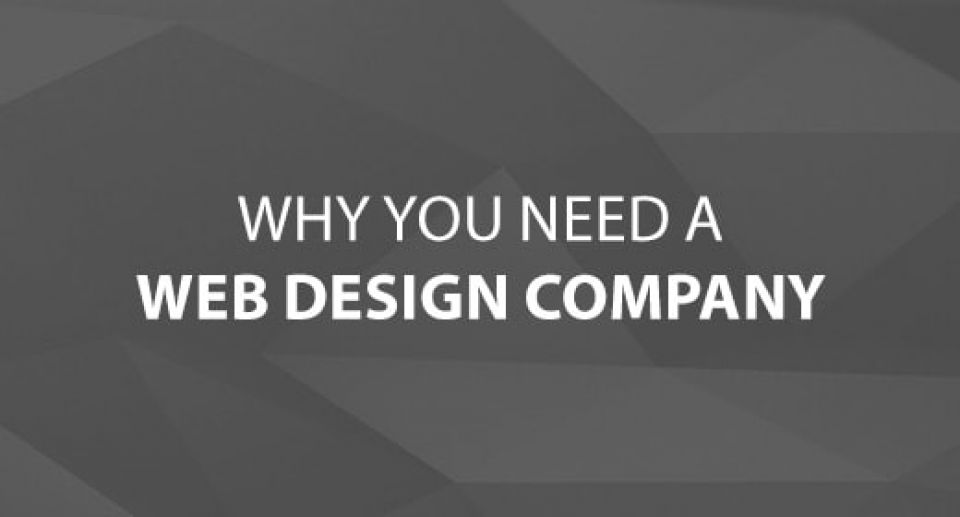 Why You Need a Web Design Company