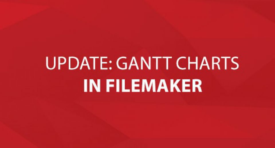 Update: Gantt Charts In FileMaker