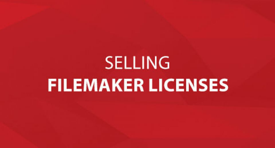 Selling FileMaker Licenses