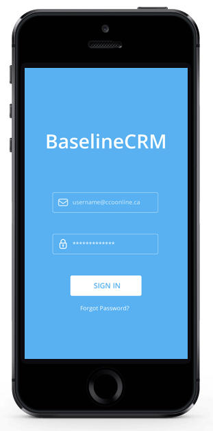 Image of Baseline CRM Mobile