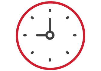 Image of a clock icon