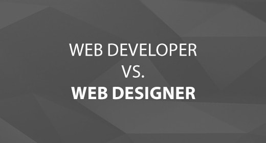Web Developer vs. Web Designer