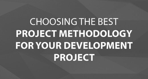 Choosing the Best Project Methodology for Your Development Project text image