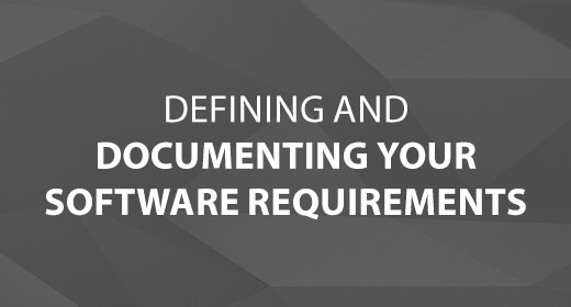 Defining and Documenting Your Software Requirements text image