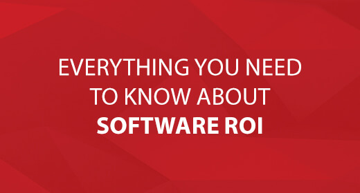Everything to Know about Software ROI text image