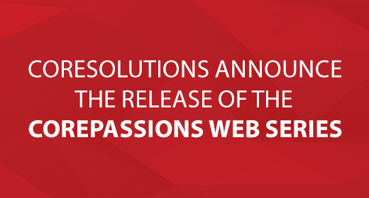 Image of the Announcement of the Release of the CorePassions Web Series