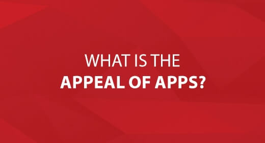 What is the APPeal of APPs? text image