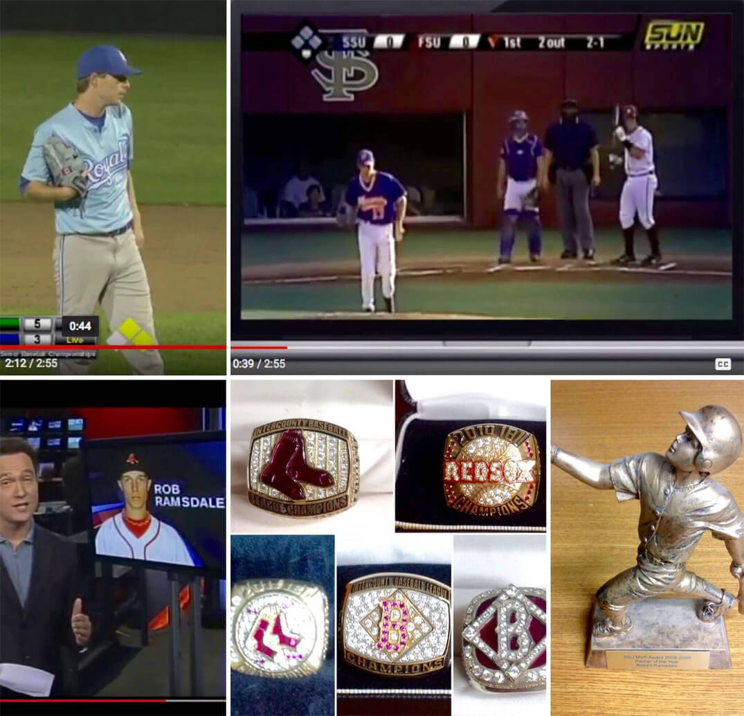 Multiple Images of CorePassions Episode 1 Robert Ramsdale & Baseball