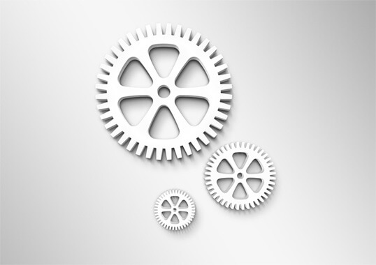 Image of a workflow gears
