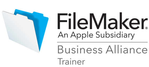 Image of the FileMaker Certified Trainer Logo