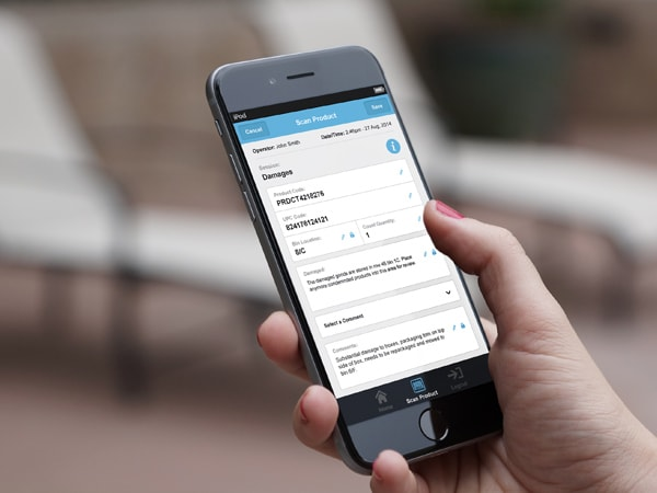 Image of a Phone with a reponsive image