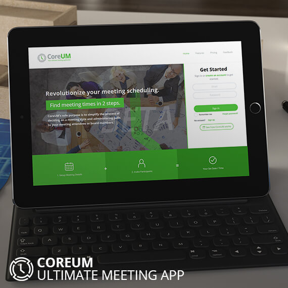 CoreUM - Ultimate Meeting Application