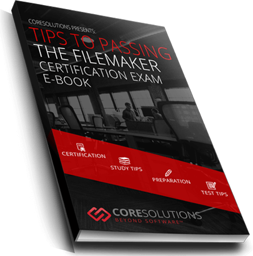 Photo with cover of FileMaker EBook